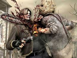 Leon Kennedy Chainsaw Death by Pepper527