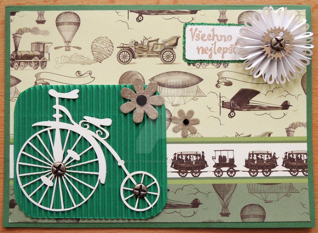 Велосипед для скрапбукинга