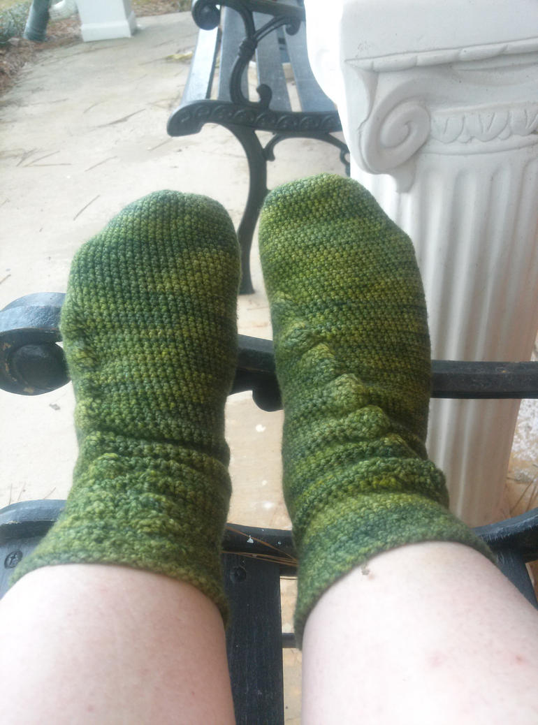 cable socks by Shankler