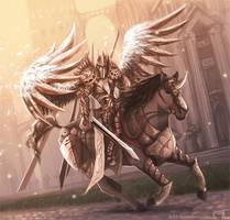 Angel by VladGradobyk