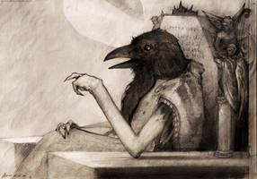 raven by VladGradobyk
