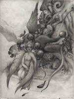 angel and demons by VladGradobyk