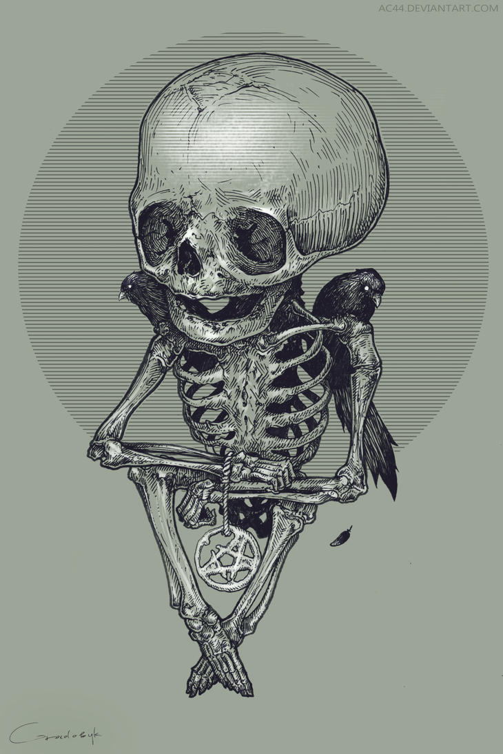 baby skeleton by AC44