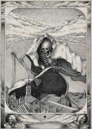 #death #skeleton III by VladGradobyk