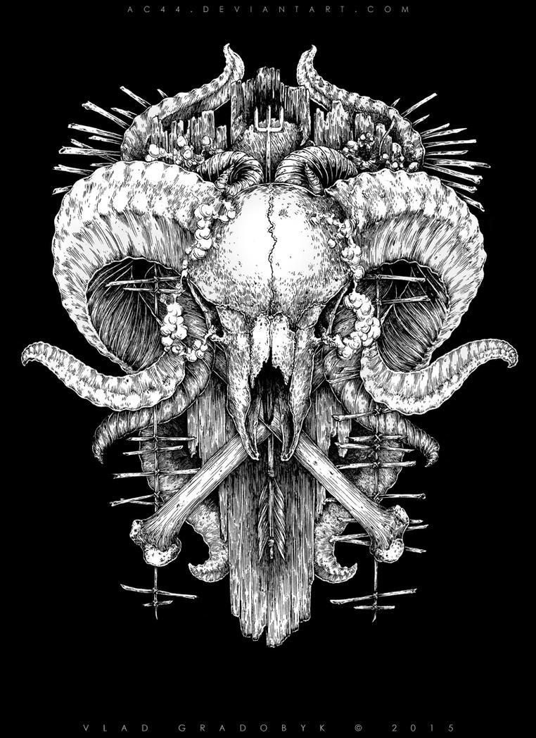 Ram Skull by AC44