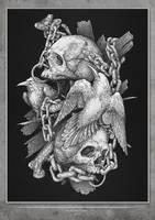 Skulls by VladGradobyk