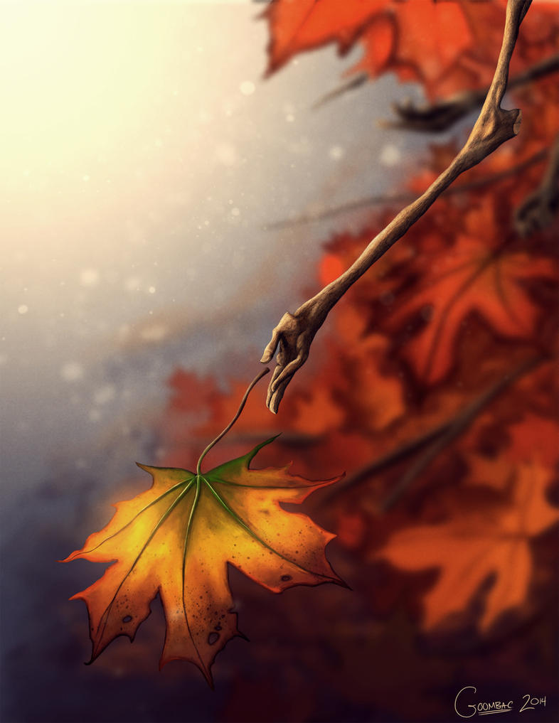 Fall Leaves by Goombac