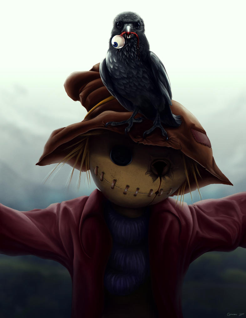 The Crow by Goombac