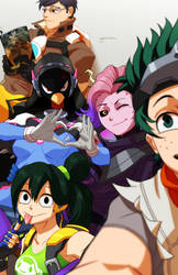 My Overwatch Academia (Pt 4) by Goombac