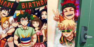 Happy Birthday Bakugou!