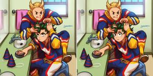 Happy Birthday Deku and Mirio