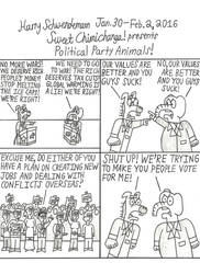 Political Party Animals! by OliverRed