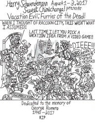 Vacation Evil: Furries of the Dead! by OliverRed