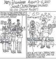He-she Creeper Peeper! by OliverRed