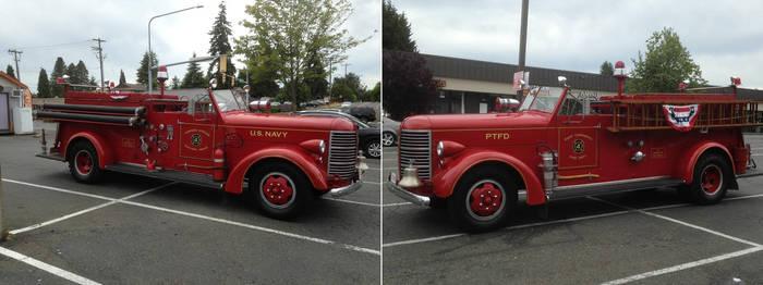 Old Timer Firetruck