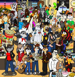 Fursona Fest by OliverRed