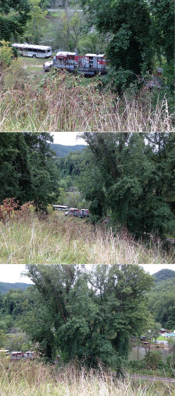 The Fugitive Train Crash Site