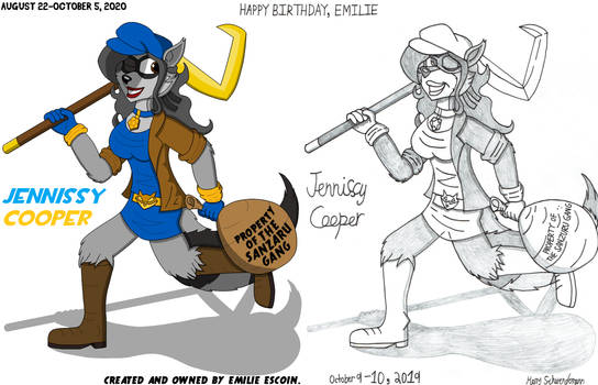 Happy Birthday, Emilie. Jennissy Cooper