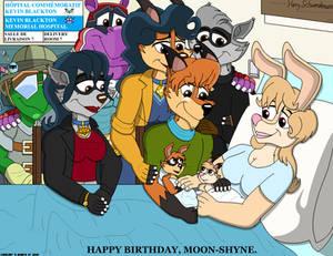 Happy Birthday, Moon-Shyne. Matt and Beth's Babies