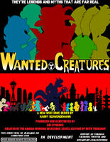 Wanted Creatures 1st Teaser Poster