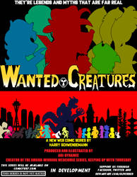 Wanted Creatures 1st Teaser Poster by OliverRed