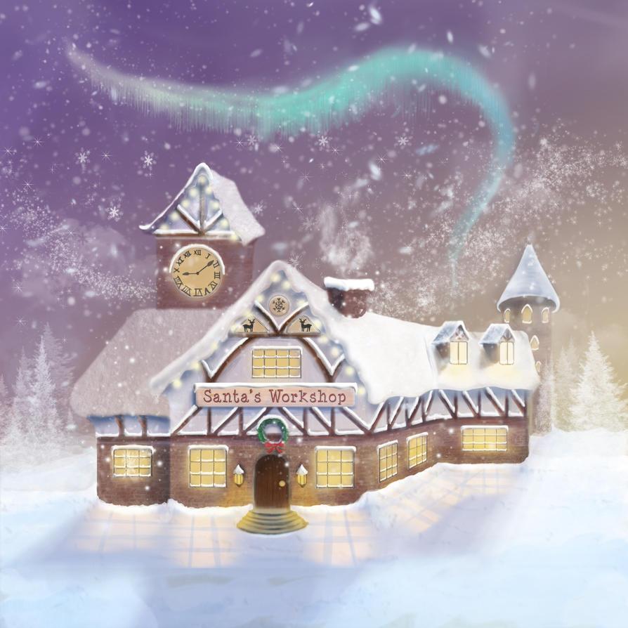 Santa's Workshop by Silver-Guild