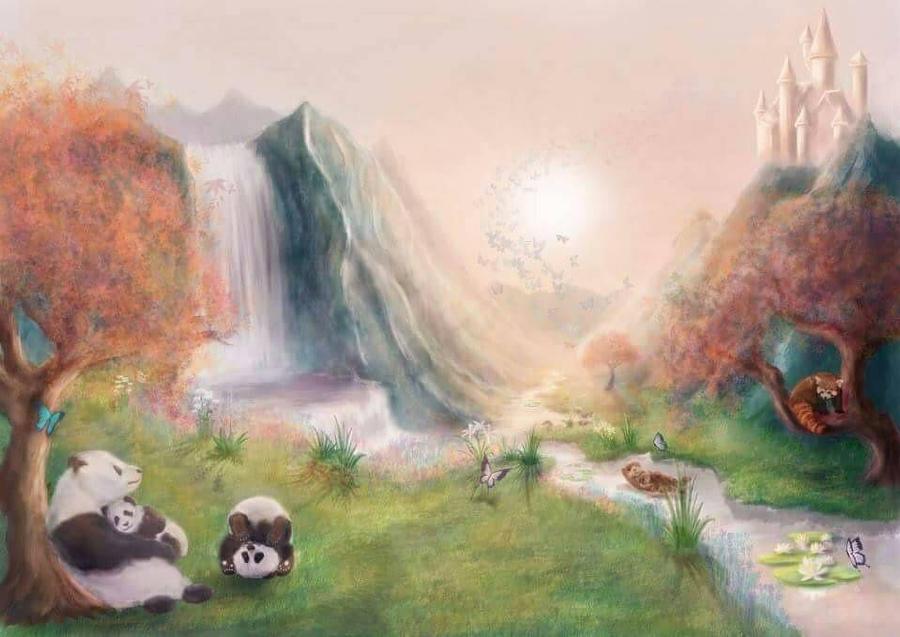 Fantasy Landscape by Silver-Guild