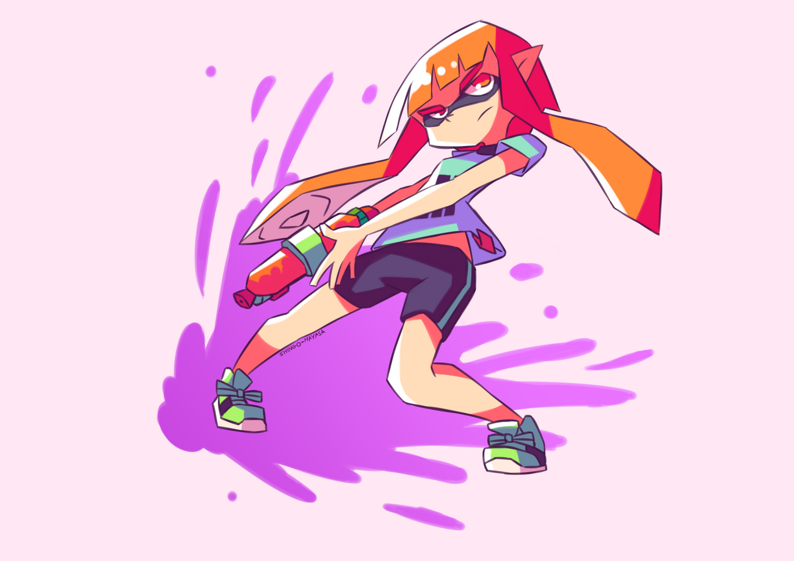 how to make a drawing in splatoon 2