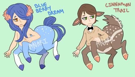 centaur design [one left] by anari-chan