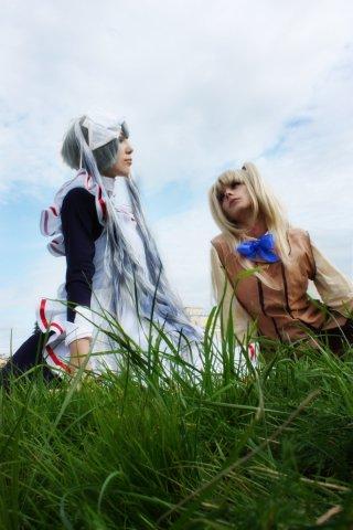 Matsurika Shinoji and Maria by NatalieCartman