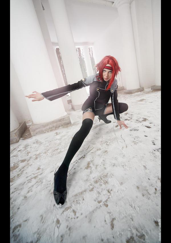 Kallen Kouzuki cosplay by NatalieCartman