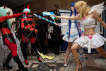 Panty and Stocking Fight