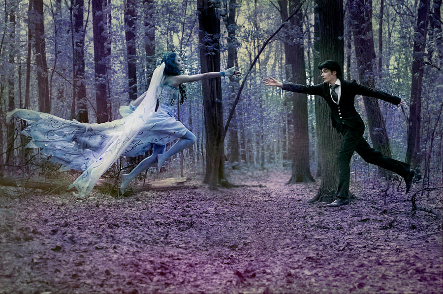 Corpse bride fairytale by NatalieCartman