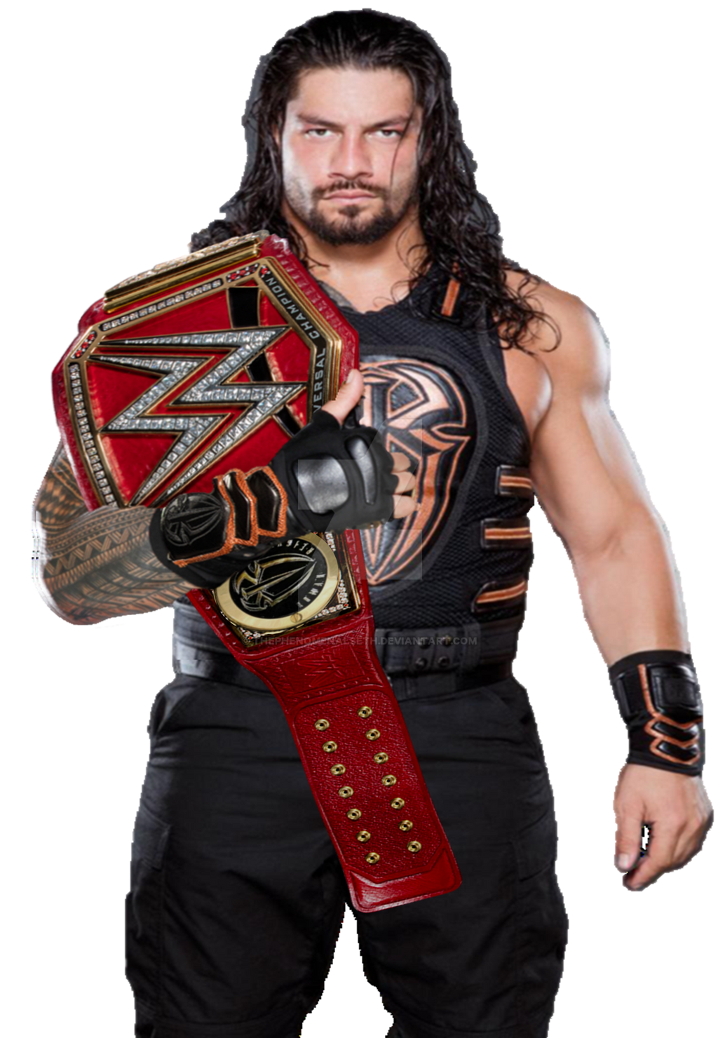 Roman Reigns WWE Universal Champion 2017 by ...