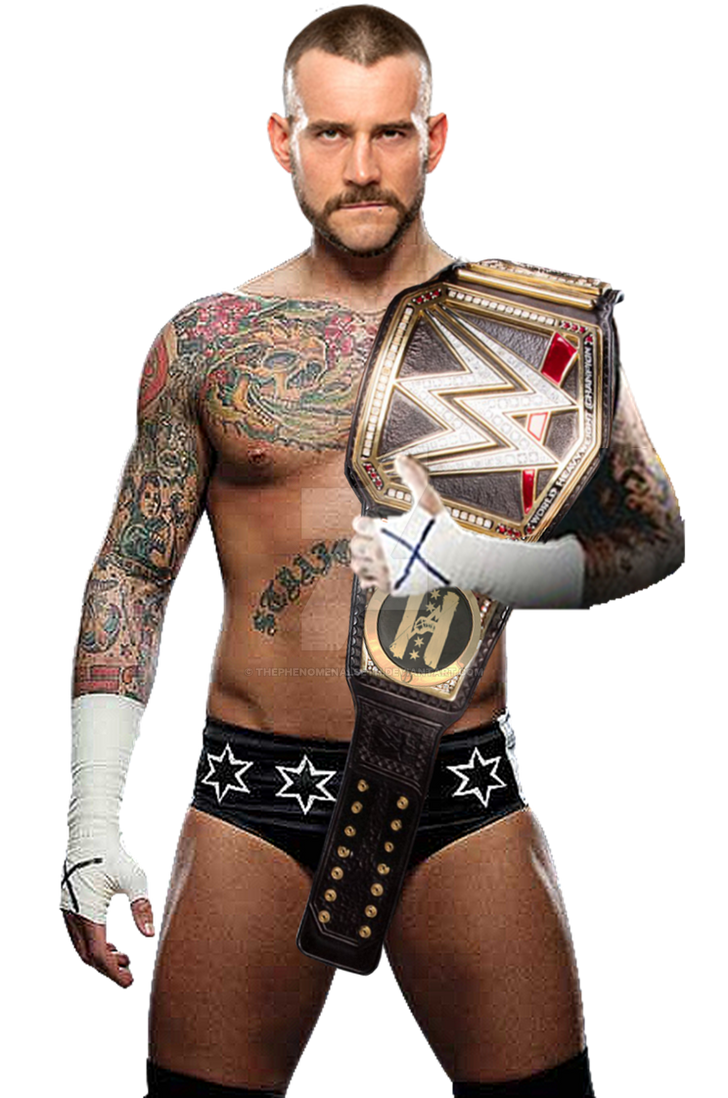 cm punk wwe world champion 2017 by thephenomenalseth on deviantart. Black Bedroom Furniture Sets. Home Design Ideas