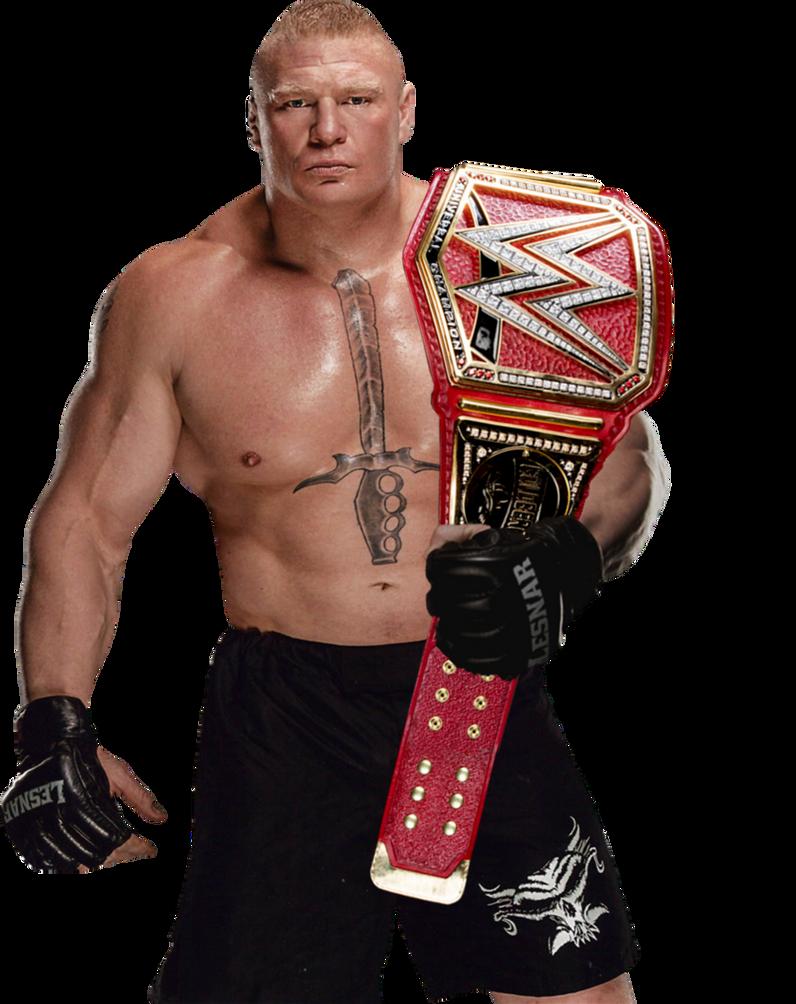 Brock Lesnar Universal Champion By ThePhenomenalSeth