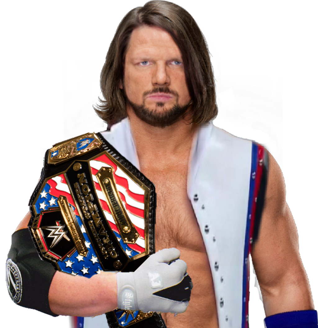AJ Styles United States Champion By ThePhenomenalSeth On