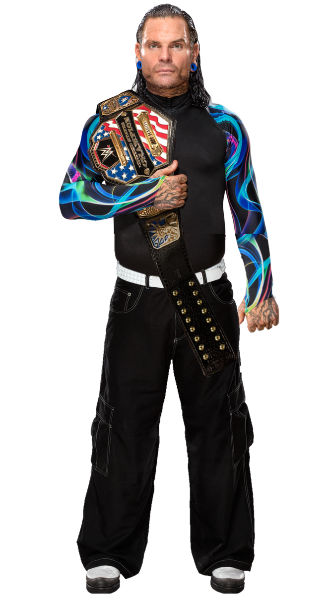 Jeff Hardy New Us Champion By Thephenomenalseth On Deviantart