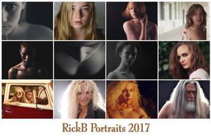 RickB Portraits - Kalender 2017