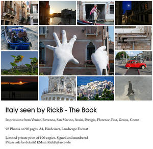 Italy seen by RickB - The Book