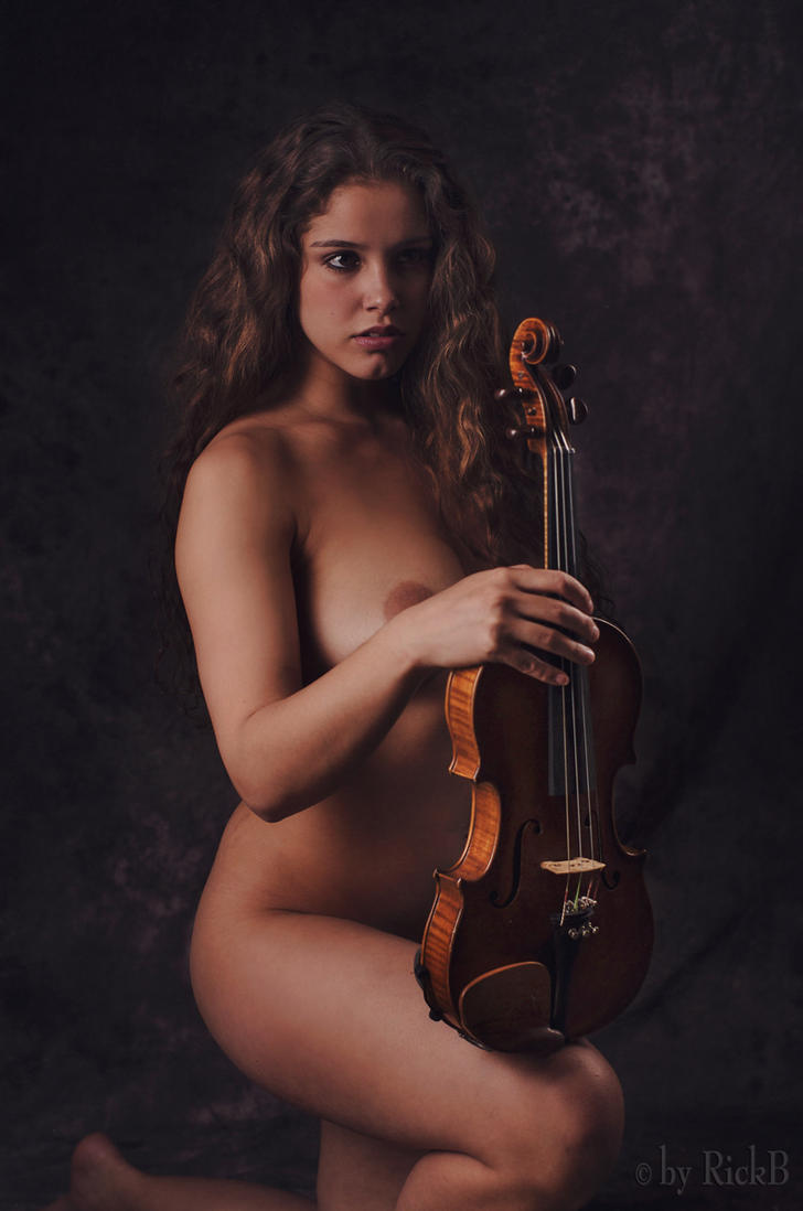Pavlina and the Violin by RickB500