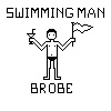 Pixel Swimmer by brobe