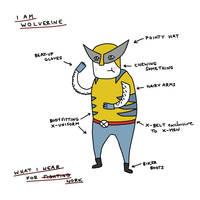 Gemma Correll's Wolverine by brobe