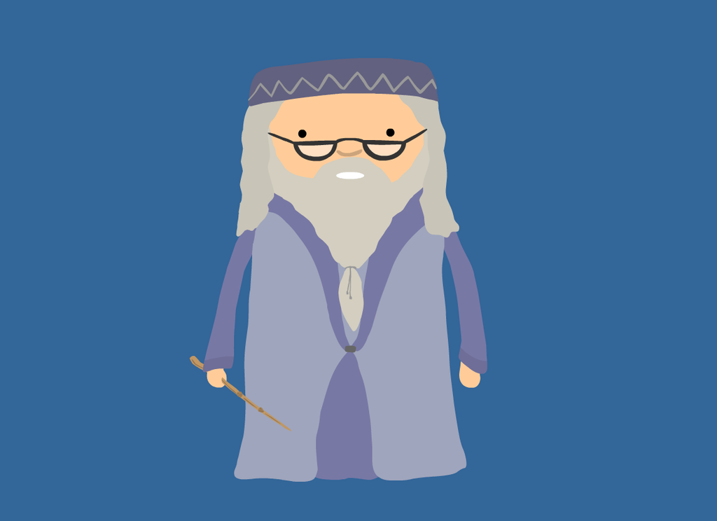 8. Dumbledore by brobe