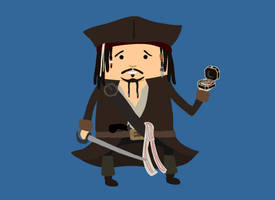 11. Captain Jack Sparrow by brobe