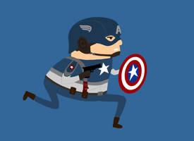 16. Captain America by brobe