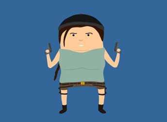 23. Lara Croft by brobe