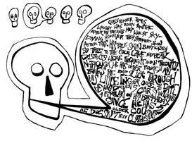 Skulls Part 2 by brobe
