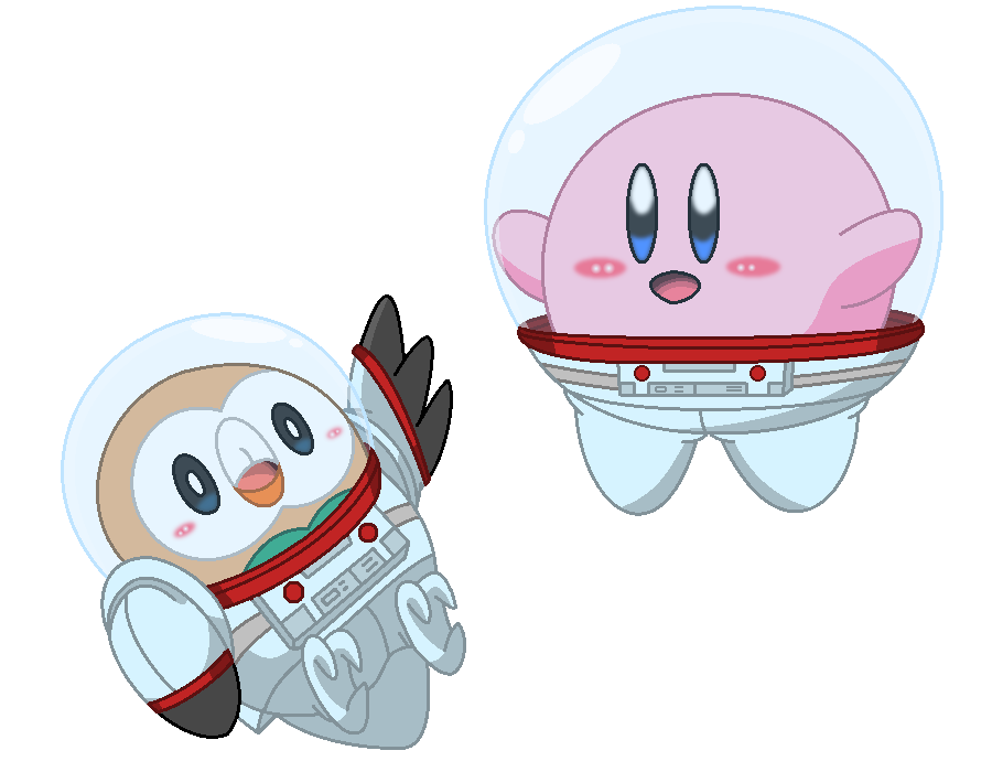 Rowlett and Kirby in space by pkspace