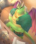 Fanart Nestor (Spyro Reignited Trilogy)